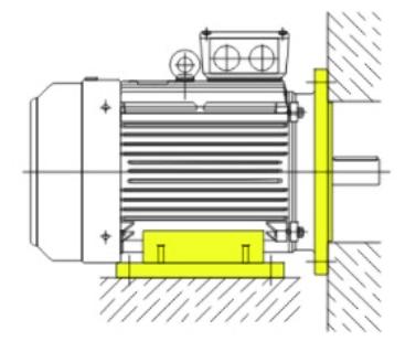 Монтажное крепление двигателя IM2081
