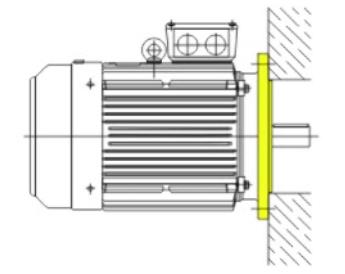 Монтажное исполнение фланец IM3081 для электродвигателя АИР180М2